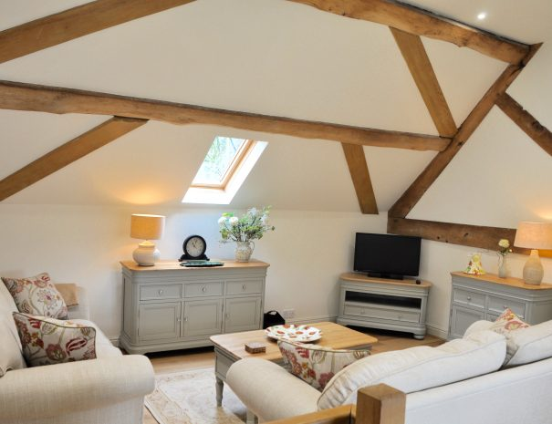 The Hayloft Cosy Sitting Room