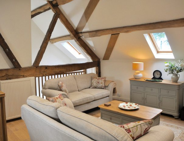 The Hayloft Sitting Room Area