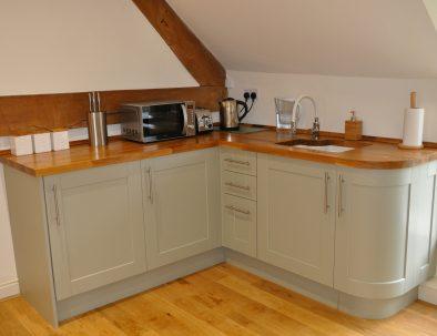 The Hayloft Kitchen Area