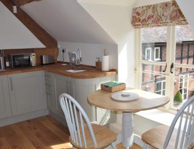 The Hayloft Kitchen Dining Area
